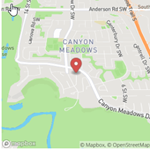 Canyon Meadows Map